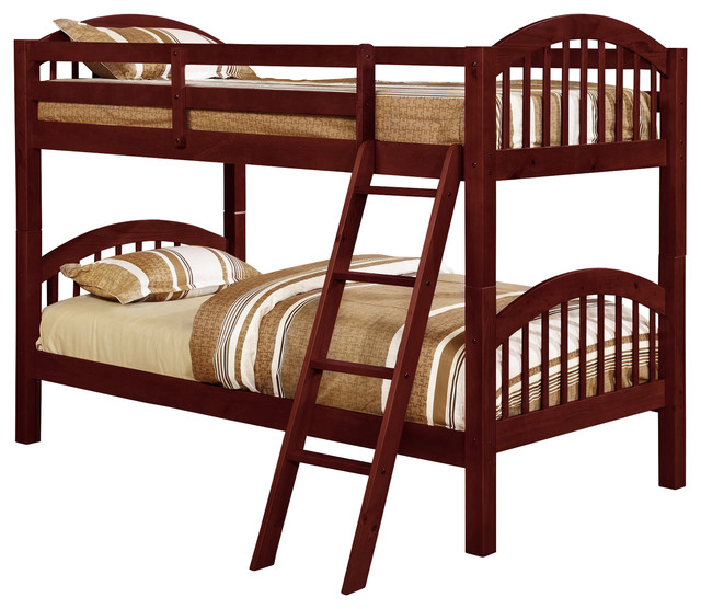 Westchester Bunk Bed, Twin Over Twin - Transitional - Bunk Beds - by ...