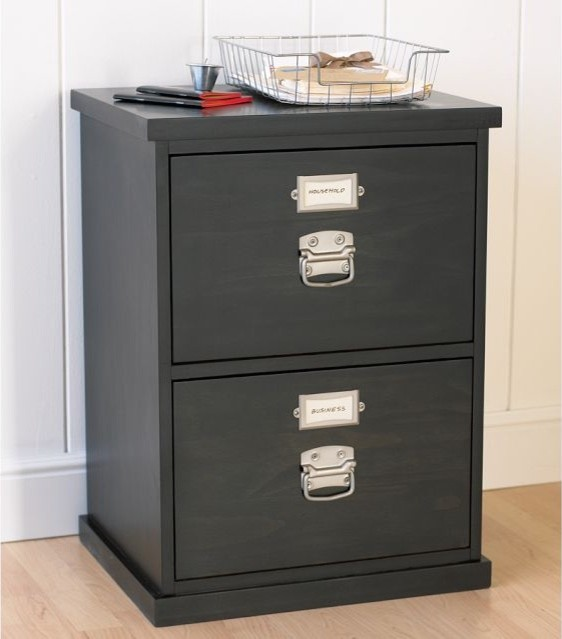 Bedford 2-Drawer File Cabinet - Traditional - Filing ...