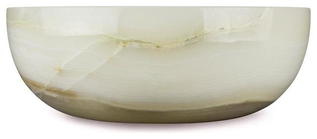 Vanilla Onyx, Dome Vessel Sink, Sink A.