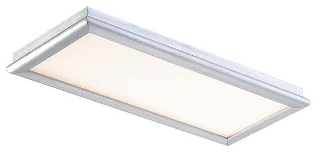 Modern Forms Ws-3712 Neo Led Dimming Flush Mount Ceiling Bathroom Light.
