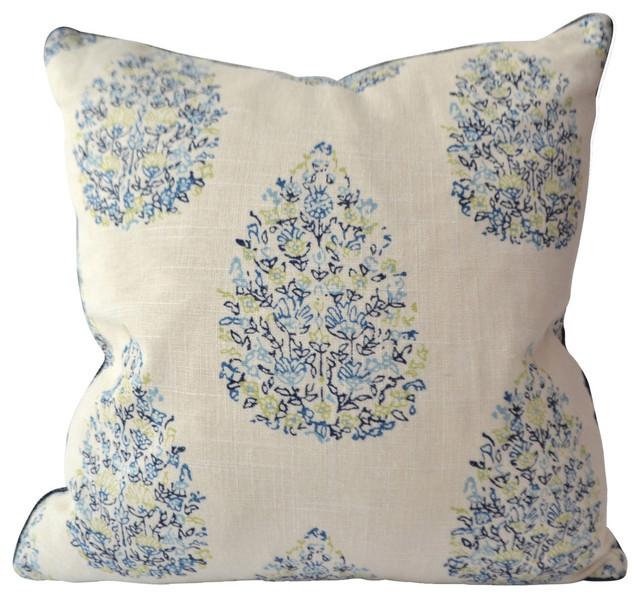 Kedara Decorative Pillow - Traditional - Decorative Pillows - by Avosetta Home