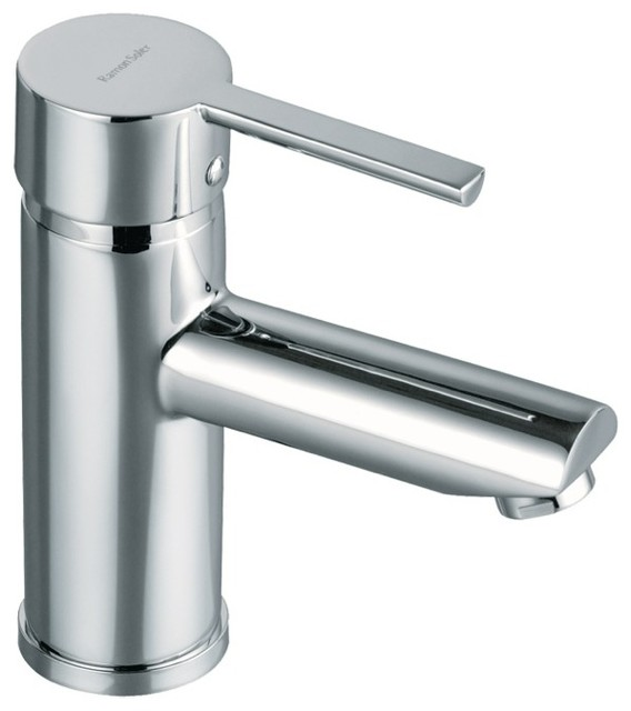 Bathroom Sink Faucet Single Handle drako bathroom sink faucet - contemporary - bathroom sink faucets