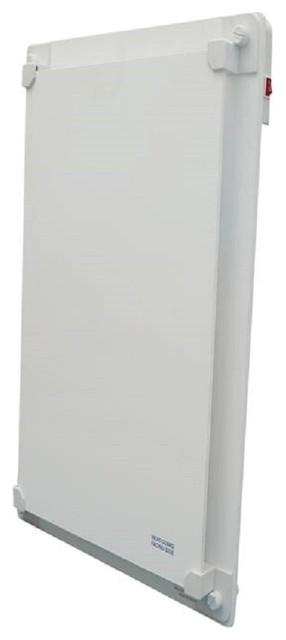 600 Watt Wall Mount Electric Room Space Heater, Heat Guard Model.