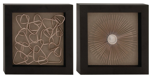 Metal Wall Decor, 2-Piece Set, 18