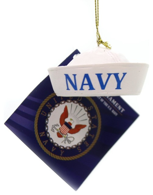 Holiday Ornaments U S Navy Cap Official Licensed Product Na2142 Sailor