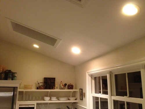 Need to upgrade recessed lights in my vaulted ceiling