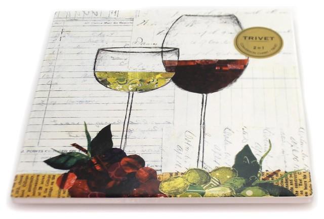 Kitchen Wine Glasses Trivet Ceramic Conversion Chart 1004180129
