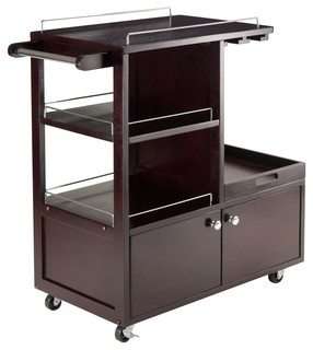 34.25 in. Kitchen Cart