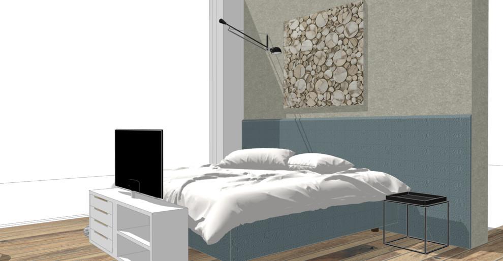 Ein Schlafzimmer kommt groß raus