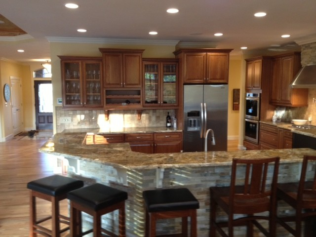 Kitchens of syracuse designer tracey shults transitional kitchen