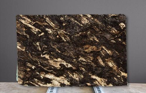 Saturnia Granite Color With Mahogany Cabinets