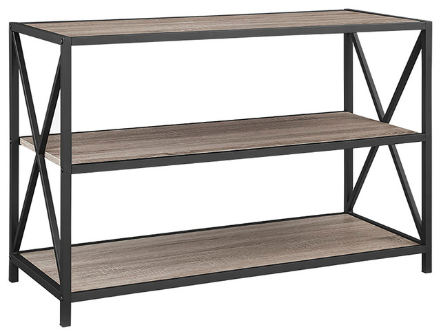 bookcase baxter custom about of bench bookcases industrial by marvelous
