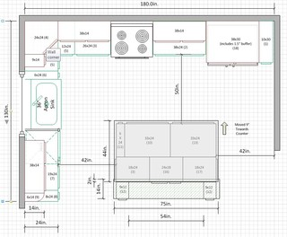 Is A 10u0027x15u0027 Kitchen Too Small For U Shape? Part 56