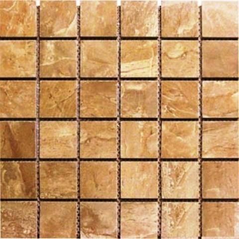 Pietra Polished Mosaic Tile, Royal, 30 Sq. ft., 2x2