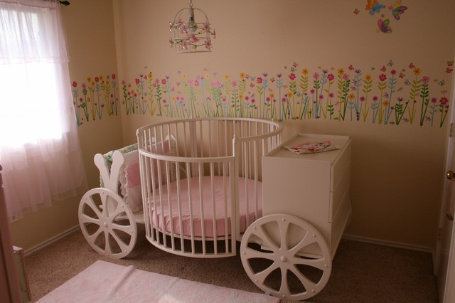 Princess Carriage Crib Traditional Austin By Stoll