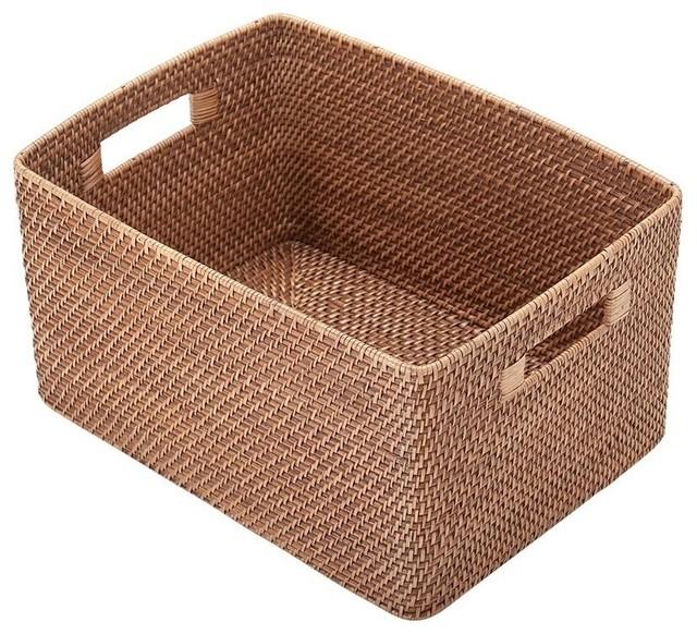 Rattan Utility Basket.