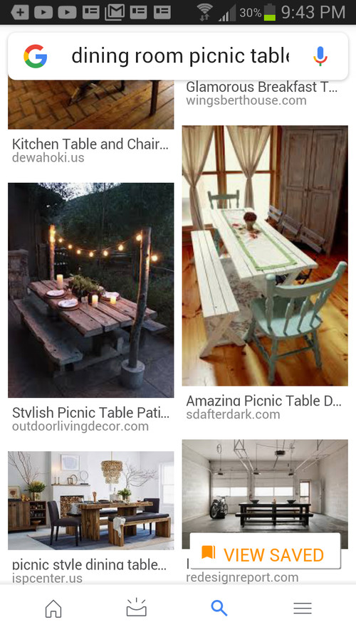 Kitchen table/ picnic table