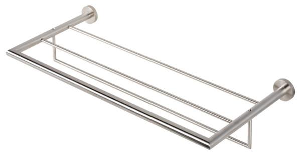 Stainless Steel Towel Rack or Towel Shelf With Towel Bar ...