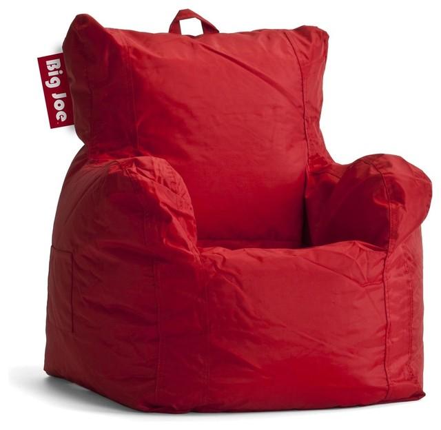 Etonnant Comfort Research Big Joe Kids Collection Big Joe Cuddle Chair, Flaming Red