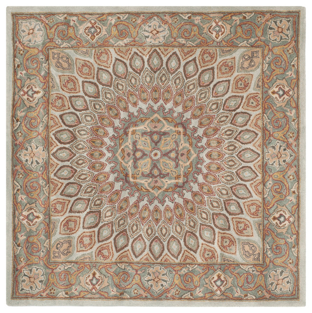 Peyton Hand Tufted Rug Blue Gray 9 6 Quot X13 6