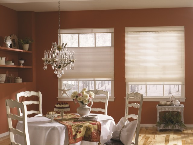 Bali Casual Classics Roman Shade Traditional Dining Room