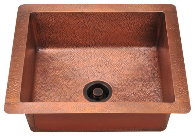 P409 Single Bowl Copper Sink.