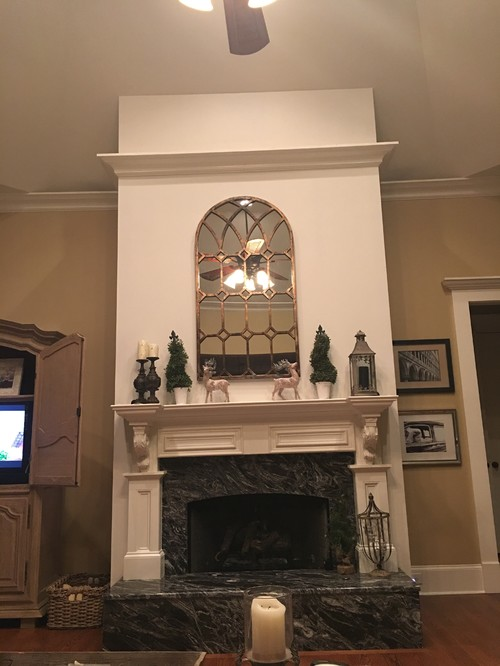 - Fireplace Facelift