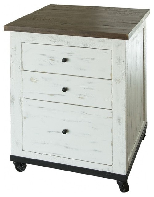 Greenview Rustic Style File Cabinet Filing Cabinets By Crafters And Weavers