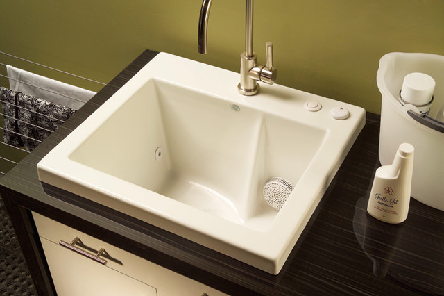Jentle Jet Laundry Sink - Modern - Utility Sinks