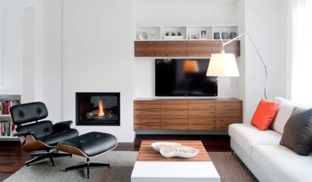 Black Walnut Eames Lounge Chair