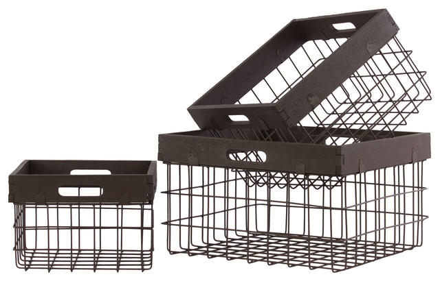 Cheung S Fp 3915 Metal Wall Hanging Storage Basket The Mine