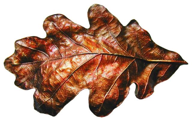 Notting Hill Decorative Hardware Oak Leaf Pulls - Cabinet And Drawer Handle Pulls | Houzz