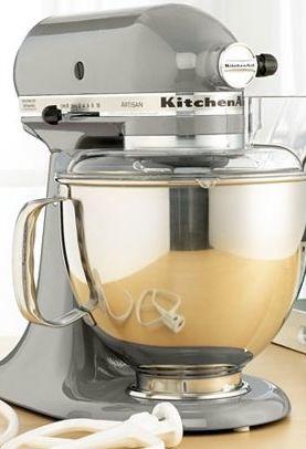 Kitchen Aid Mixer Color Black Vs Silver