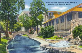 "The Venice of America, along the San Antonio River"" Print ..."