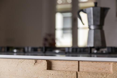 Trendverdächtig: Hauchdünne Küchenarbeitsplatten