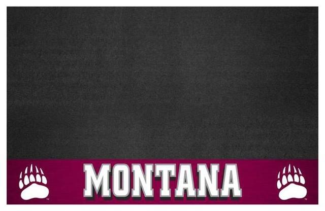 Montana Grizzlies Bbq Grill Mat.