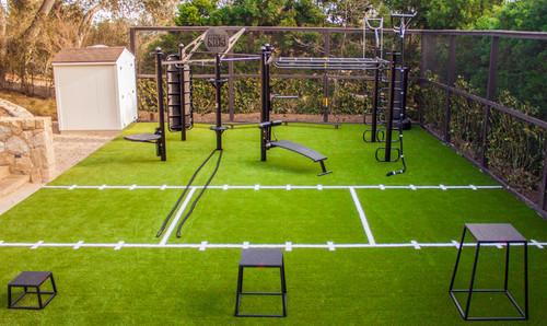 Parcours et modules d'entraînement extérieurs à la maison