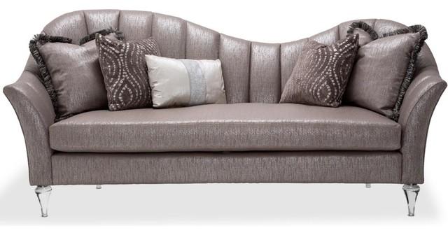 Genial AICO Michael Amini Studio Maritza Channel Back Sofa
