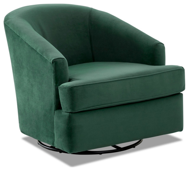Avenue 405 Furniture Charley Swivel Accent Chair: Avenue 405 Lamar Swivel Gliding Accent Chair