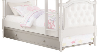 Pearlie Trundle, Gray, Twin