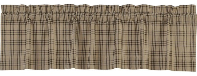 "Sawyer Mill Valance Lined, 16""x60""."