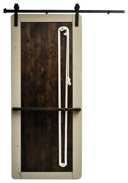 Dogberry collections barn door wood nautilus 48 x96 for 48 inch barn door