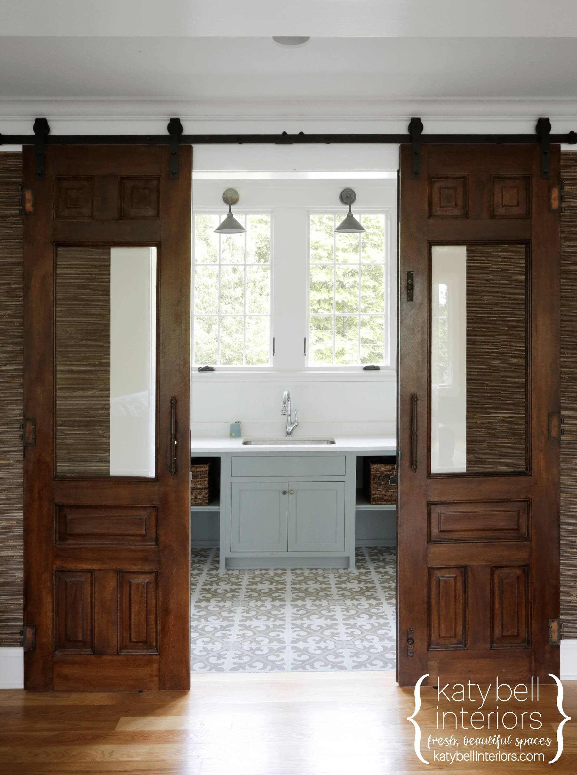 Reclaimed Laundry Room Doors
