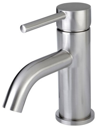 Kingston Brass Fauceture Concord Lavatory Faucet Push Button Pop Up Polished Chrome View