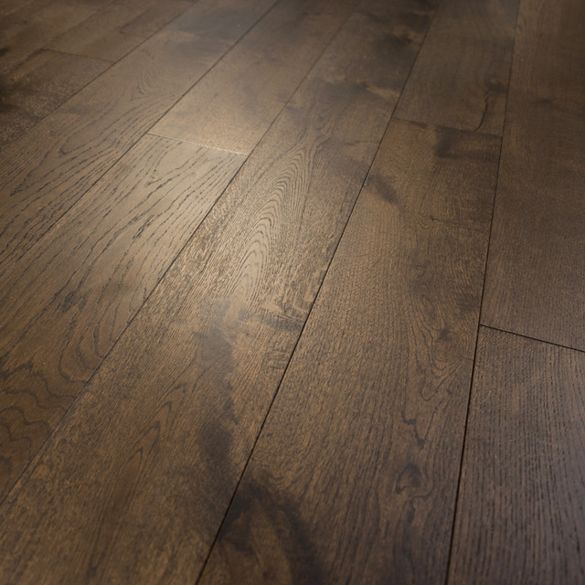 French Oak Prefinished Engineered Wood Floor, Bastille, Sample.