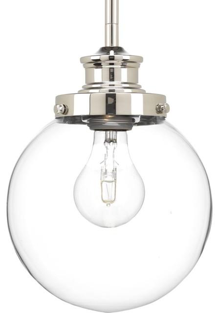 Progress Lighting 1 100w Medium Pendant Traditional By
