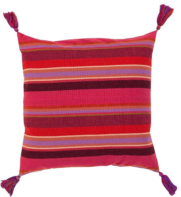 Modern Striped Pillows : Solid/Striped Stadda Stripe Decorative Pillow - Contemporary - Decorative Pillows - by RugPal