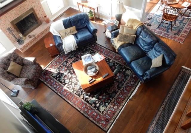 Webster, NY Home featuring Hallmark Hardwood