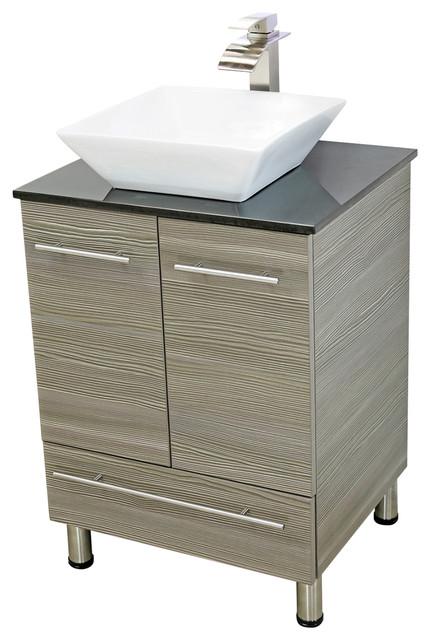 "24 Bathroom Vanities And Sinks windbay 24"" free standing bathroom vanities sink - contemporary"