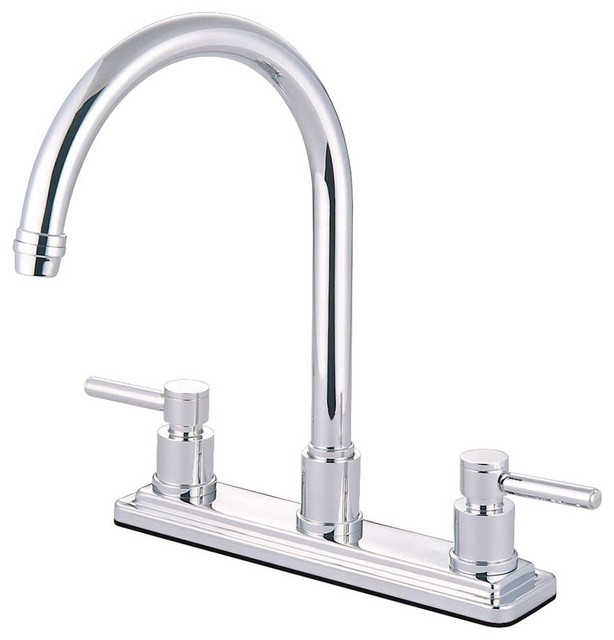 contemporary modern concord polished chrome kitchen kitchen modern bridge faucet contemporary modern kitchen